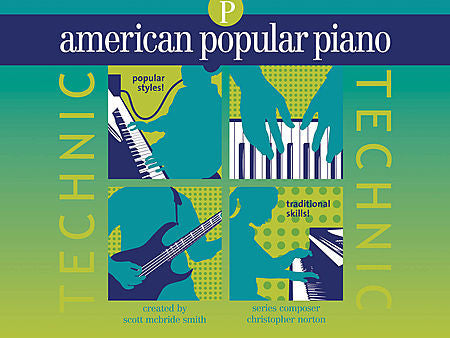 Norton, Christopher - American Popular Piano: Technic, Preparatory Level - Piano Method Series*