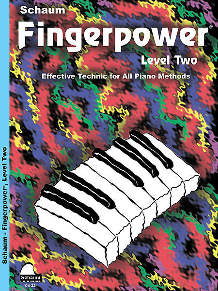 Schaum, Wesley - Fingerpower Book, Level 2 - Effective Technic for All Piano Methods - Piano Method Series