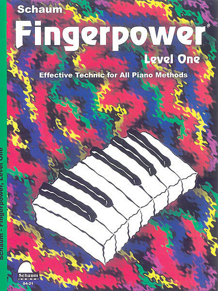 Schaum - Fingerpower Book, Level 1