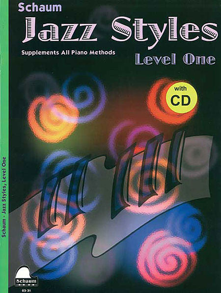 Schaum - Jazz Styles, Level 1 Bk/CD