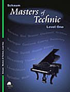 Schaum, Jeff & Wesley - Masters of Technic, Level 1 - Etudes w/Emphasis on Melody - Piano Method Series*