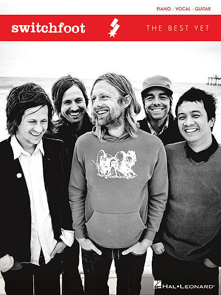 Switchfoot - The Best Yet Piano/Vocal/Guitar Artist Songbook P/V/G