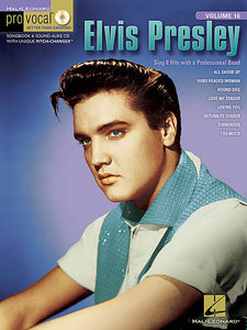 Elvis Presley - Volume 2 Pro Vocal Men's Edition Volume 16 Book/CD Pack(OUT OF PRINT)