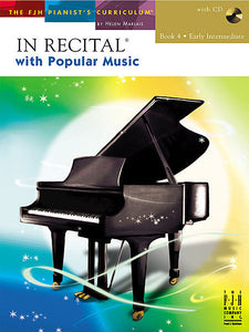 In Recital with Popular Music, Book 4 - various Edwin McLean and Kevin Olson - Piano Book
