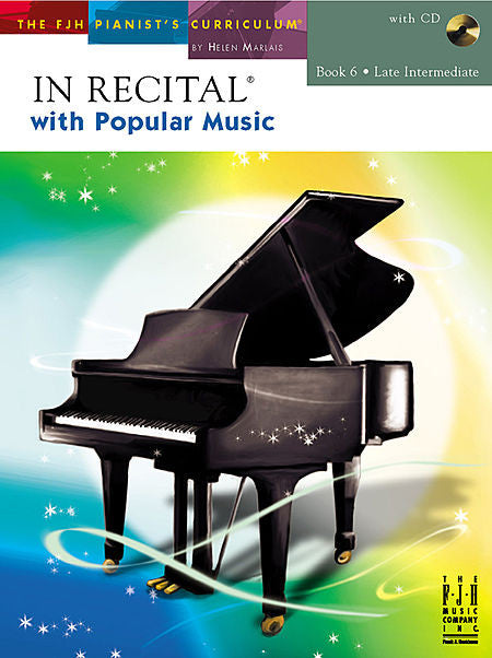 In Recital with Popular Music, Book 6 - various Edwin McLean and Kevin Olson - Piano Book
