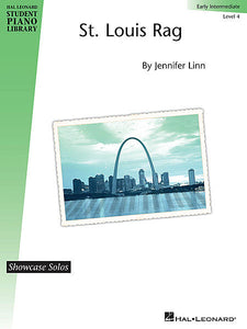 St. Louis Rag Showcase Solos Level 4 - Early Intermediate by Jennifer Linn Level 4 - Early Intermediate Educational Piano Library