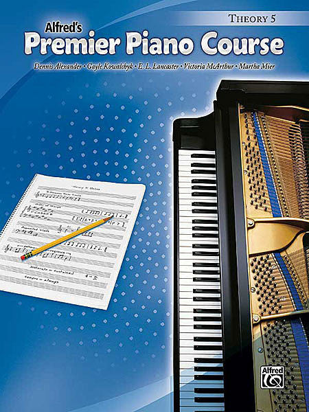Premier Piano Course: Theory Book 5