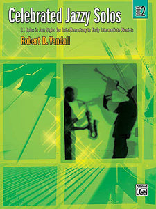 Celebrated Jazzy Solos, Book 2 - Vandall