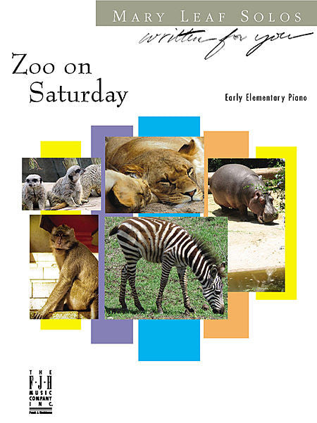 Zoo on Saturday - Mary Leaf - Piano Solo Sheet