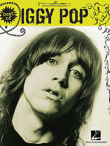 Best of Iggy Pop Piano/Vocal/Guitar Artist Songbook P/V/G