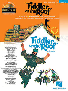 Fiddler on the Roof Piano Play-Along Volume 80 Piano Play-Along Book/CD Pack
