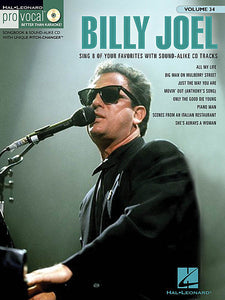 Billy Joel Pro Vocal Men's Edition Volume 34 Book/CD Pack Pro Vocal Melody/Lyrics/Chords