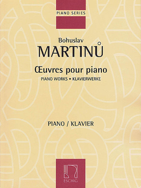 Piano Works Editions Durand