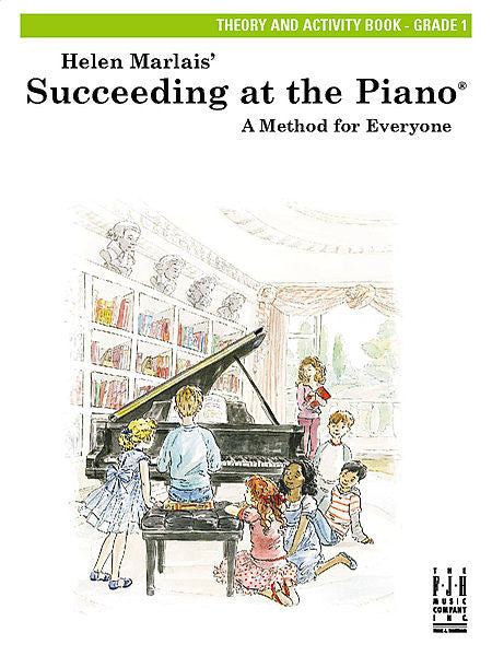 Succeeding at the Piano , Theory and Activity Book - Grade 1 - various - Piano Book