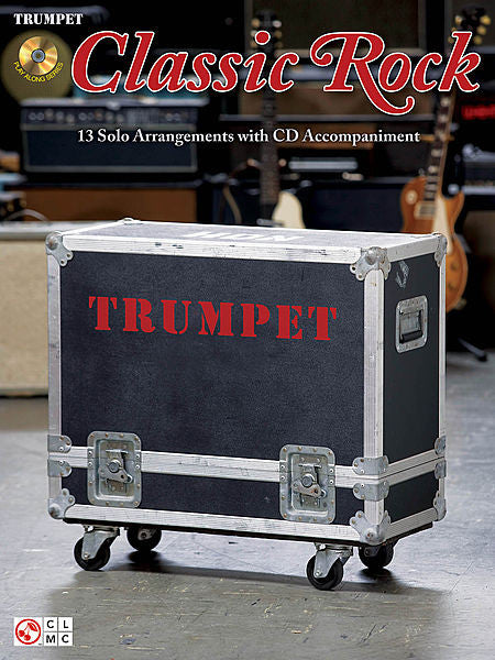Classic Rock for Trumpet Book/CD Packs Instrumental Trumpet