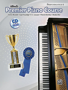 Premier Piano Course: Performance Book 6