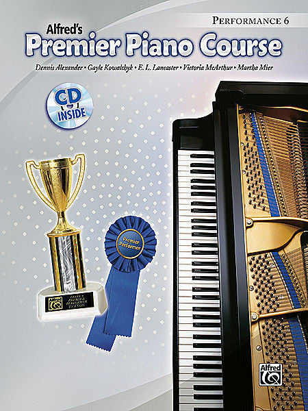 Premier Piano Course: Performance Book 5