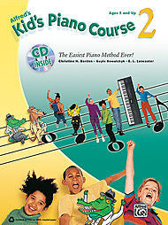 Kid's Piano Course, Book 2 - The Easiest Piano Method Ever! - Ages 5 and Up - Piano Method Series w/CD (POP)*
