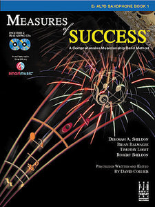 Measures of Success E-flat Alto Saxophone Book 1