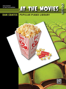 Dan Coates Popular Piano Library: At the Movies, Book 3