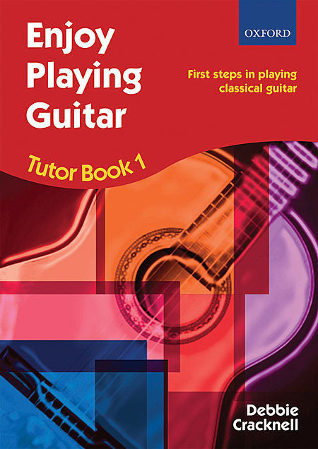 Enjoy Playing Guitar Tutor Book 1 + CD - Cracknell, Debbie -