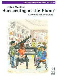 Succeeding at the Piano , Theory and Activity Book - Grade 2A - various - Piano Book