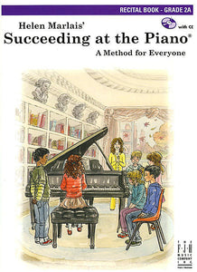 Succeeding at the Piano , Recital Book (with CD) - Grade 2A - various - Piano Book