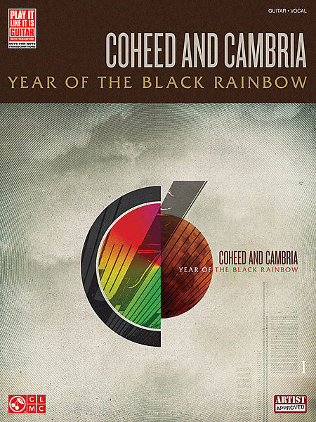 Coheed and Cambria - Year of the Black Rainbow Play It Like It Is Play-It-Like-It-Is Guitar