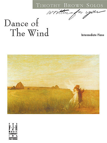 Dance of The Wind - Timothy Brown - Piano Solo Sheet