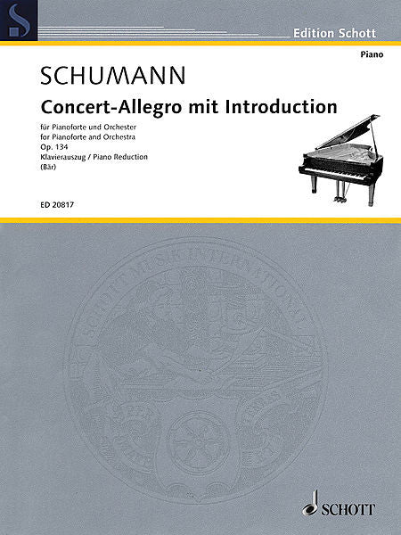Concert-Allegro with Introduction, Op. 134 Piano Reduction for 2 Pianos, 4 Hands ed. Ute Bar Piano