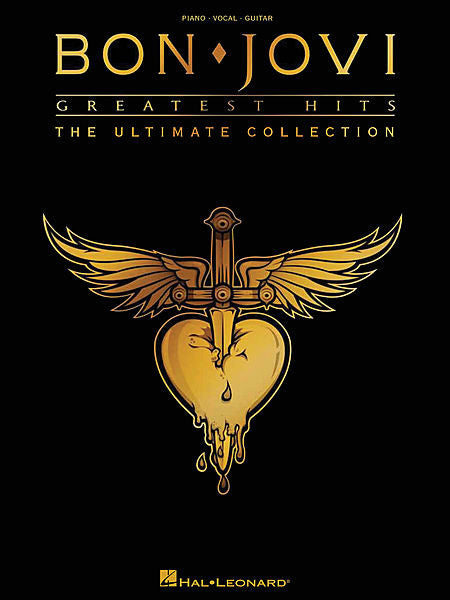 Bon Jovi Greatest Hits The Ultimate Collection Piano/Vocal/Guitar Artist Songbook P/V/G