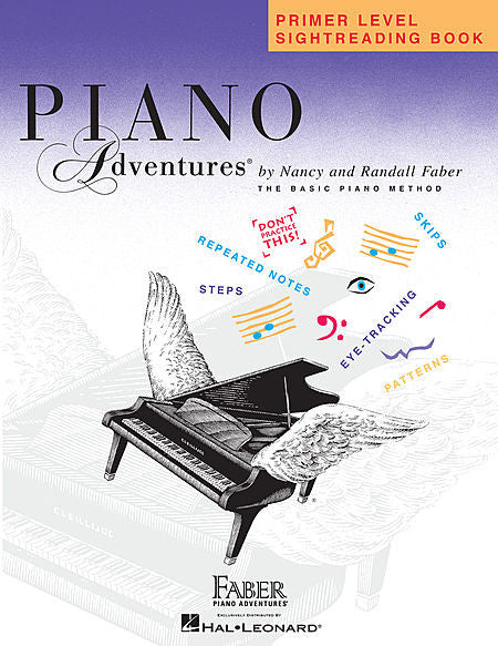 Primer Level - Sightreading Book Piano Adventures Faber Piano Adventures Sightreading Book