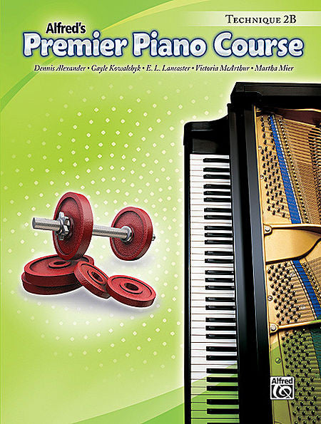 Premier Piano Course: Technique Book 2B