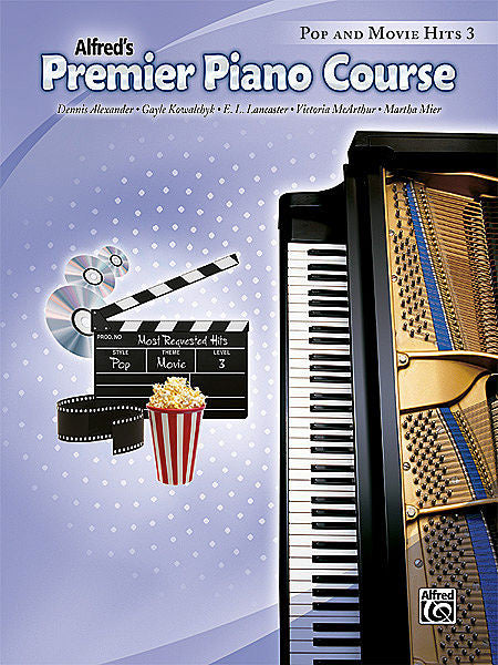 Premier Piano Course: Pop and Movie Hits Book 3