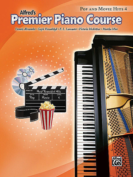 Premier Piano Course: Pop and Movie Hits Book 4