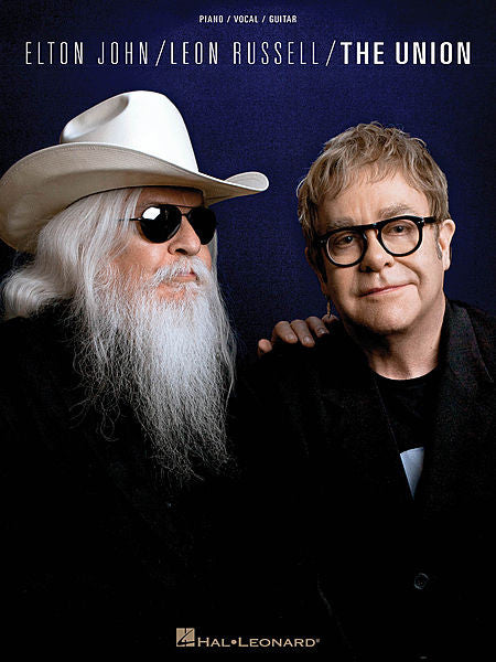 Elton John/Leon Russell - The Union Piano/Vocal/Guitar Artist Songbook P/V/G