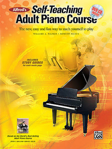 Alfred's Self-Teaching Adult Piano Course, Bk/DVD/CD