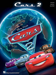 Cars 2 Music from the Motion Picture Soundtrack Piano/Vocal/Guitar Songbook P/V/G