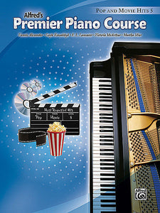 Premier Piano Course: Pop and Movie Hits Book 5