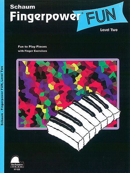 Schaum, Wesley - Fingerpower Fun, Level 2 - Fun to Play Pieces w/Finger Exercises & Duet Accompaniment - Piano Method Series*