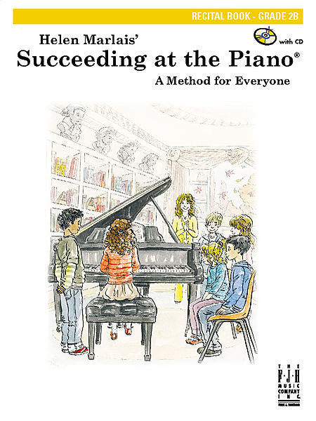Succeeding at the Piano , Recital Book, Grade 2B - various - Piano Book