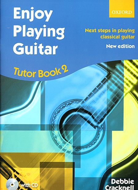 Enjoy Playing Guitar Tutor Book 2 + CD - Cracknell, Debbie -