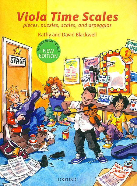 Viola Time Scales - Blackwell, Kathy/Blackwell, David -