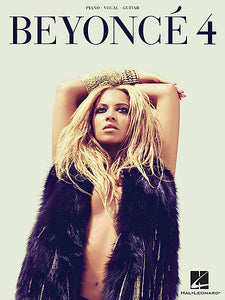Beyonce - 4 Piano/Vocal/Guitar Artist Songbook P/V/G