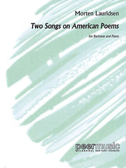 2 Songs on American Poems Baritone and Piano Peermusic Classical Baritone and Piano