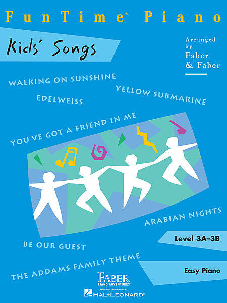 FunTime Kids' Songs Level 3A-3B Faber Piano Adventures Book