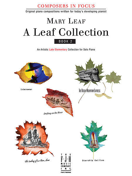 A Leaf Collection, Book 2 - Mary Leaf - Piano Book