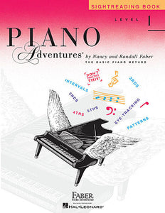 Sightreading Book Level 1 Faber Piano Adventures Book