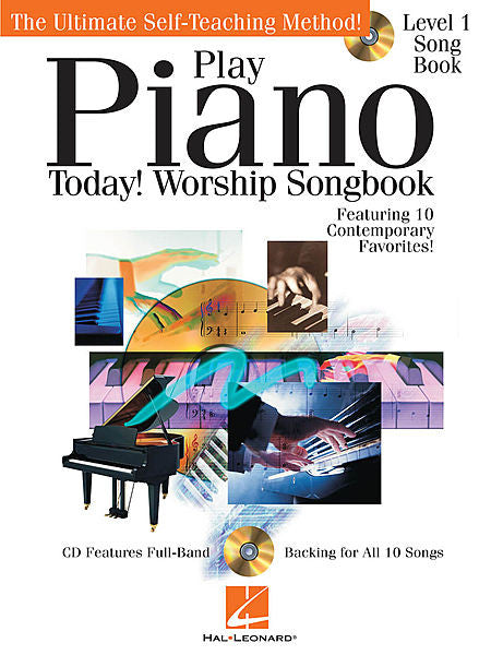 Play Piano Today! - Worship Songbook Play Today Instructional Series Book/CD Pack