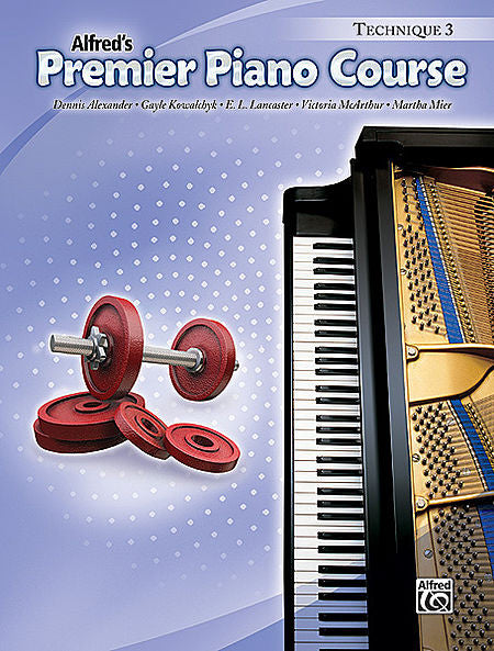 Premier Piano Course: Technique Book 3